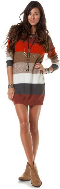 Sweater Dress by bbdakota #Dress #bbdakota