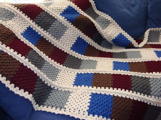 Crochet Blanket -Goose Berry P