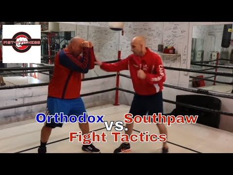 Fight Tips For Southpaws Boxing Against Orthodox Fighters Youtube Southpaw Fight Combat Sport