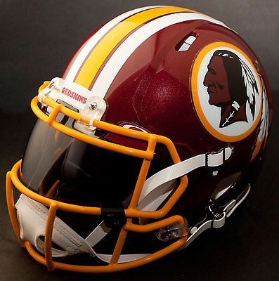 ***CUSTOM*** WASHINGTON REDSKINS NFL Riddell Revolution SPEED Football Helmet