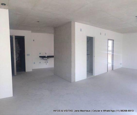 Apartamento 74m² no #MaxHaus Paulista. Piso de cimento queimado e teto de concreto aparente paginado! Lindo <3   jana@mxvendas.com.br | Celular e What'sApp (11) 98268-6913