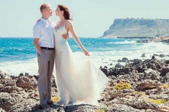Hochzeit auf Kreta // Crete Wedding. Photographer Andrej Pavlov.