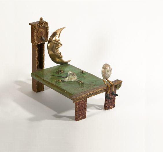"""Bedtime Story"" bronze, 13"" x 9"" x 10.5""   EXHIBITION BOOK (including bio, artwork descriptions and prices) » https://www.sugarsync.com/pf/D7771278_2178774_6972504"