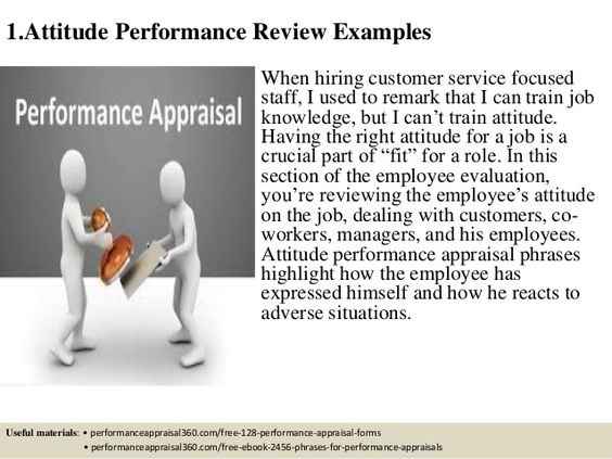 280 performance review comment samples Performance Review Time - performance appraisals samples