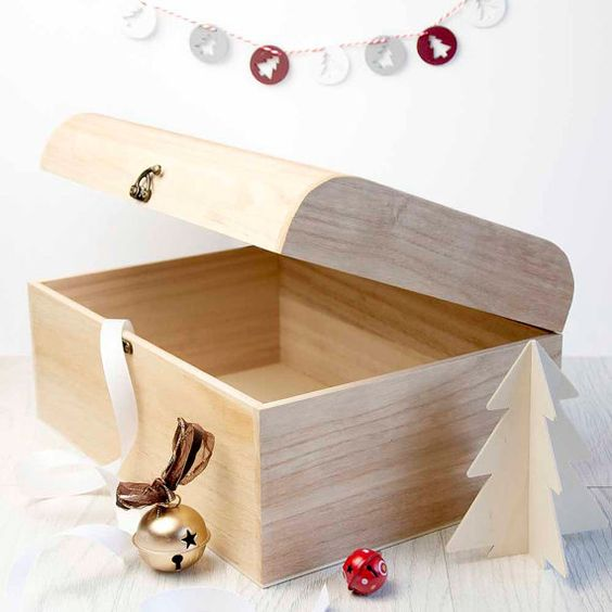 Personalised Family Christmas Eve Chest With by SerendipityVita