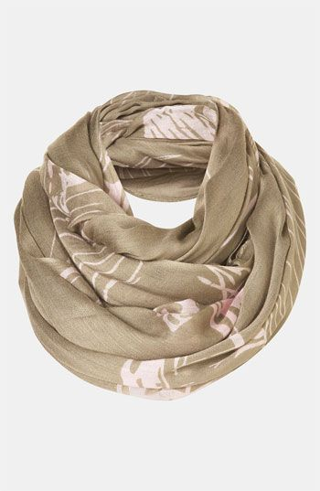 Topshop 'Toucan' Print Scarf #Nordstrom #britishstyle