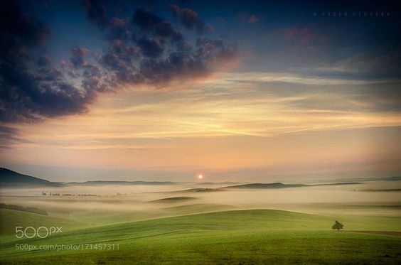 #photography Late summer sunrise by padarp9 https://t.co/NFjnn9ddZV #followme #photography