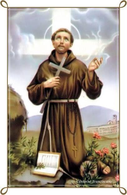 Hermano Francisco en oración