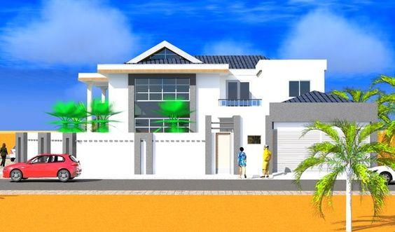 House design proposal in kigali Rwanda-Architecture design