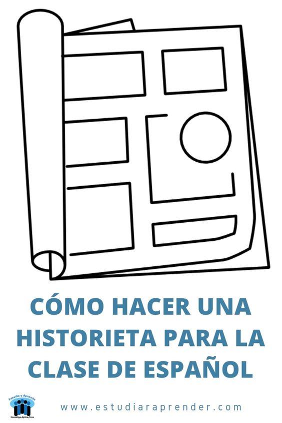 como hacer una historieta para la clase de español