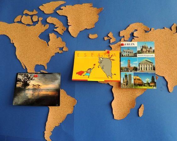 ...Postkarten aufhängen...