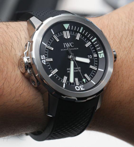 """2016 IWC Aquatimer Watches""的图片搜索结果"