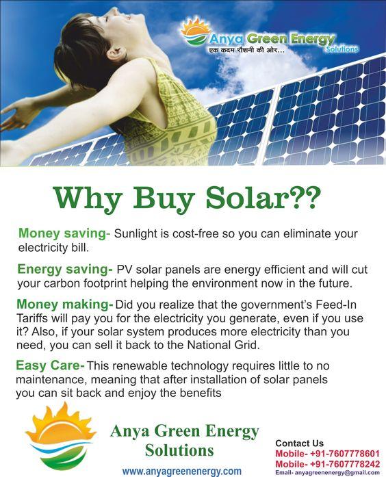 why buy SOLAR SYSTEM?