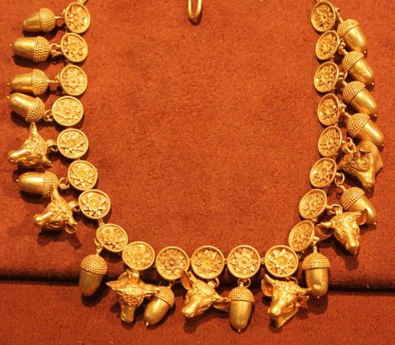 3rd century BC - Gold -The Troad Necklace : Archaeological Musuem Stathatos