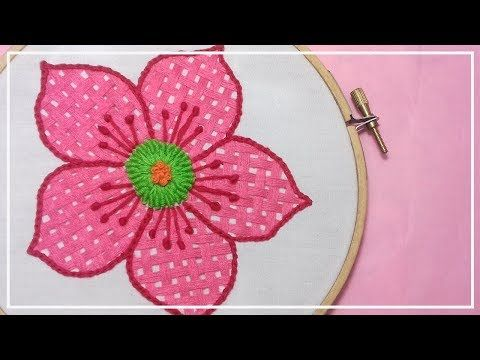 Embroidery Bordados A Mano Paso A Paso Puntadas Para Flores