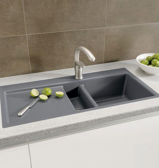 Villeroy Boch Subway 60 Flat Die Keramikspule Mit Handbetatigung Ist Fur Den Flachenbundigen Einbau In Modern Kitchen Sinks Kitchen Concepts Modern Kitchen