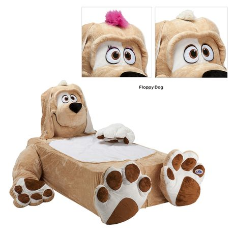 Check out this Fun Animal Bed 100% Plush Hypo-Allergenic Fabric with an MSRP of $400.00, but available for $155.00 only @ nomorerack.com...What a Cute Idea!!!