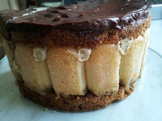 Birnen-Cappuccino-Torte