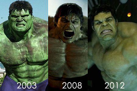 Eric bana, Edward norton and Hulk on Pinterest
