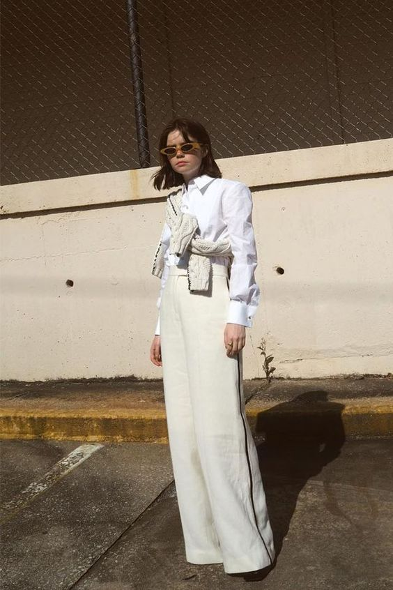 How to wear all white this summer