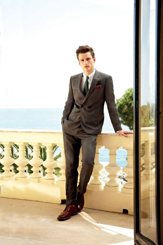 Next Taps Simon Nessman for its Fall 2012 Lookbook