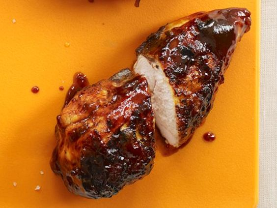 Tangy Barbecue Chicken : Dress up your chicken with this easy sweet and tangy barbecue sauce, and you'll never resort to store-bought again.