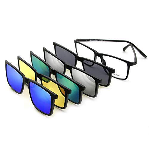 Magnetic sunglasses - Magnetic clip on sunglasses