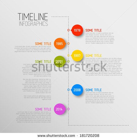 six staged vertical timeline diagram powerpoint template Slide01 ...