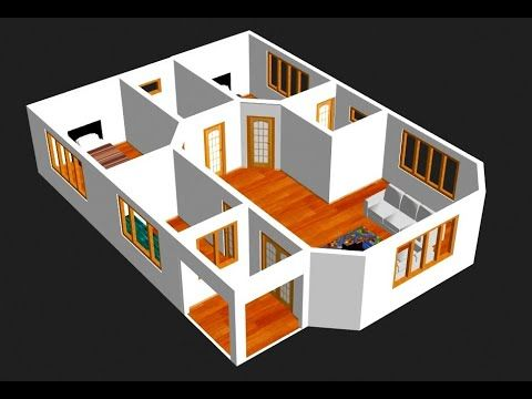 Barrier Free Small House Plan 90209pd Floor Plan Main Level Free House Plans Small House Floor Plans Small House Plan