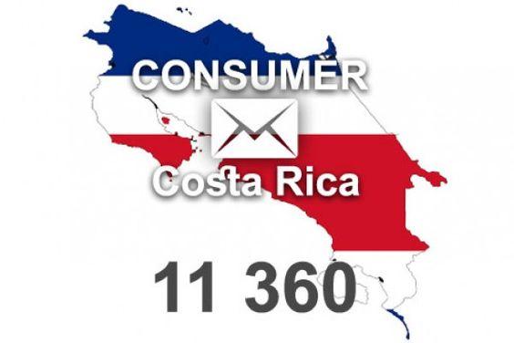 Costa Rica   E-Mail Adressen kaufen - 11 360 aktuelle private E-Mail Adressen stehen zur Verfügung. Mit Opt-in E-Mail Adressen wird Werbung zum Erfolg.