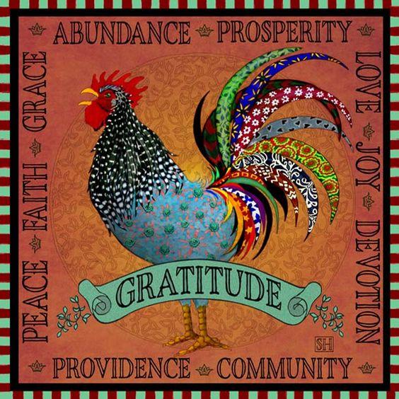 Art Print: Gratitude | Sarah Hudock's Lighthearted Art: