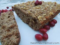 Coconut Flour Banana Bread with Nuts