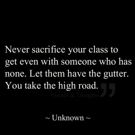 How true this statement is, it is hard dealing with scumbags and low life people but as my other pin states....let God take care of  them. I am no longer going to go out of my way though, they've been getting off waaayyyy too easily. :)