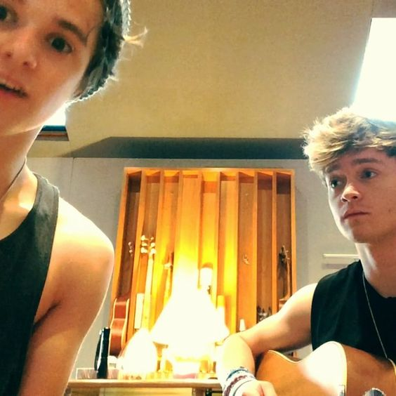 Connor and Brad wrote a song