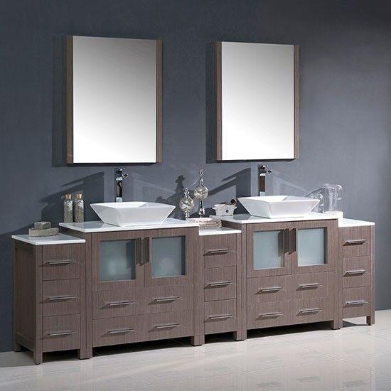 96 Inch Bathroom Vanity With Images Bathroom Vanity Double
