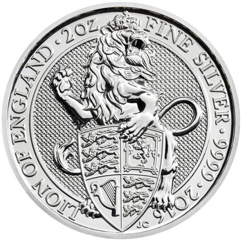 Uk Queen S Beasts Silver Bullion Coins In 2020 Silver Bullion Silver Bullion Coins Silver Coins