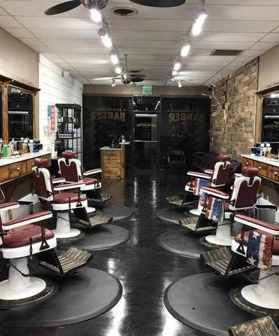 3 X 4 Super Soft Circular Mat 1 Inch Barber Shop Decor Barbershop Design Barber Shop Interior