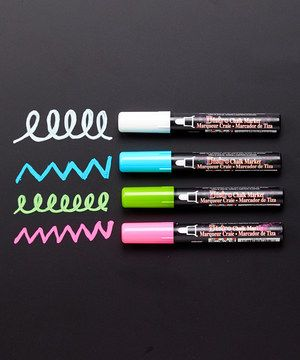 Look at this Bistro Chalk Marker - Set of Four on #zulily today!