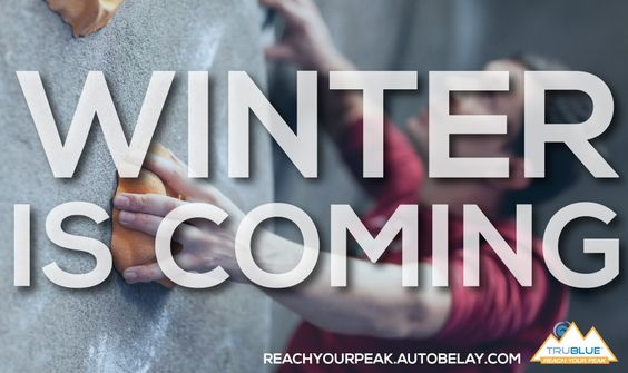 Winter is coming - how are you staying in shape? #training #fitness #8weeks #climbing