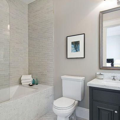 Tile tubs and bathroom on pinterest for Good bathroom designs