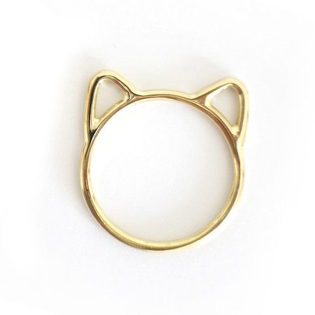 Anel Gato de Ouro - Liê