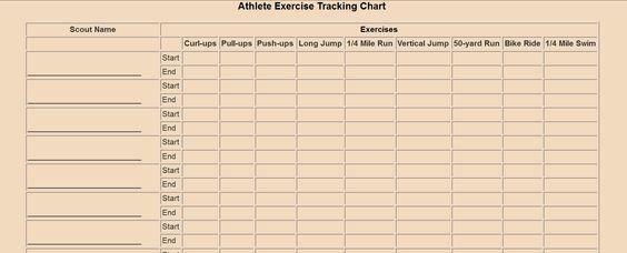 Webelos Athlete Worksheet Worksheets For School - Studioxcess