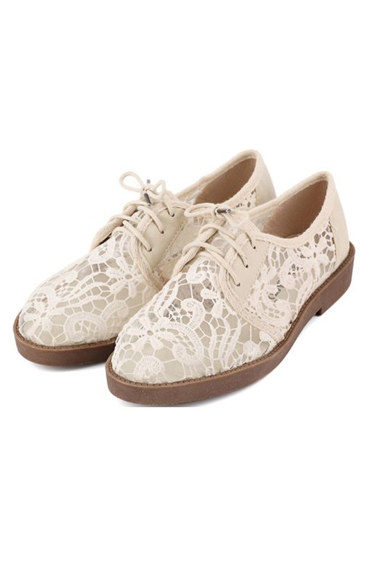 NEW IN: Pascal Lace Oxfords