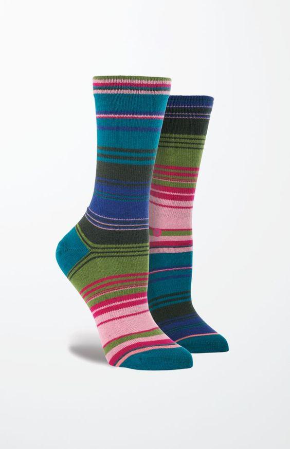 Mexicant Stripe Crew Socks