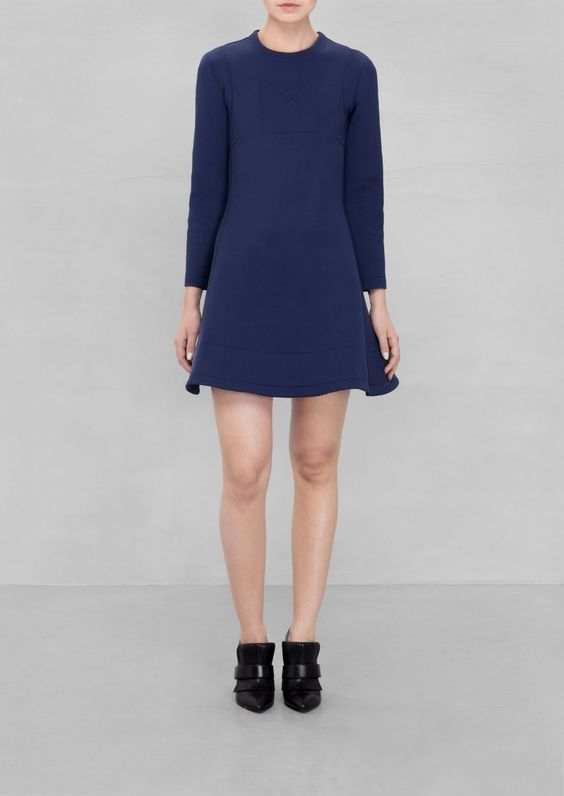 & Other Stories | SADIE WILLIAMS Scuba Skater Dress