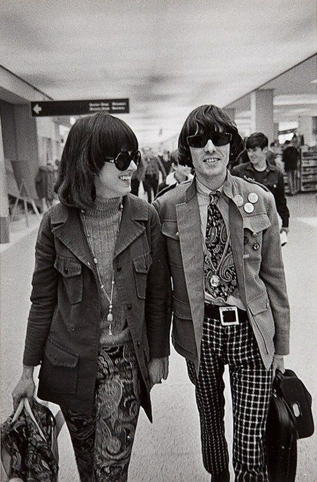 Jefferson Airplane Grace Slick With Drummer Spencer Dryden Flyin 39 In For A Landing San