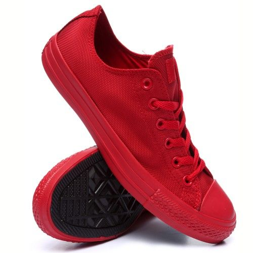 Chuck Taylor All Star - RED(Monochrome) || FiWiShops.com:
