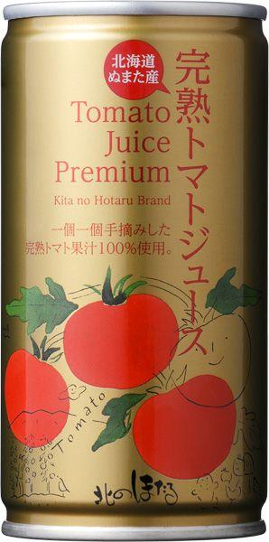 完熟トマトジュースプレミアム(190g) - Kita no Hotaru