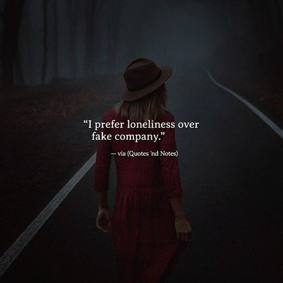 I prefer loneliness over fake company. via (http://ift.tt/2n8eYsl)
