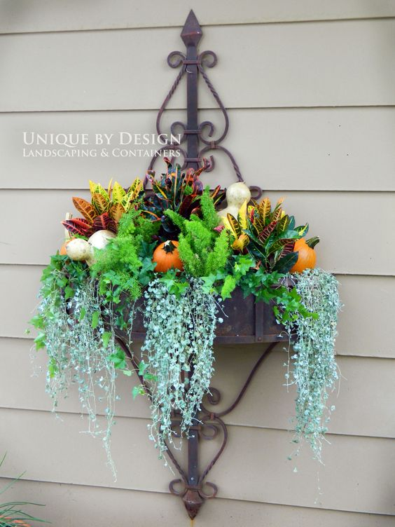 Unique by Design l Helen Weis Fall Container Gardening
